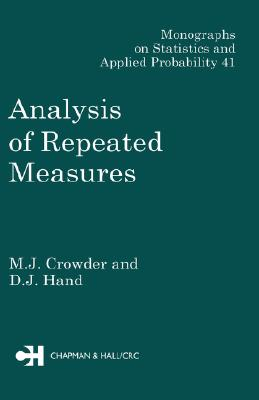 Image for Analysis of Repeated Measures (Monographs on Statistics & Applied Probability 41)