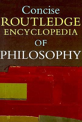 Image for Concise Routledge Encyclopedia of Philosophy