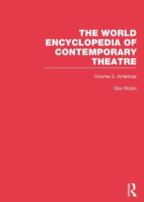 Image for World Encyclopedia of Contemporary Theatre: Volume 2: The Americas