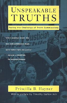 Image for Unspeakable Truths: Confronting State Terror and Atrocity