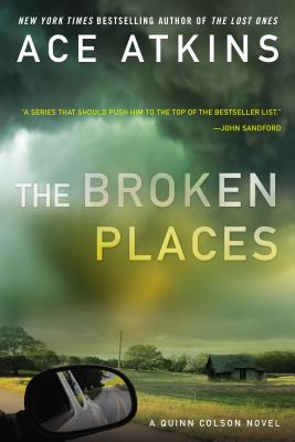 Image for BROKEN PLACES. THE QUINN COLSON