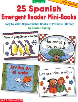 Image for 25 Spanish Emergent Reader Mini-books