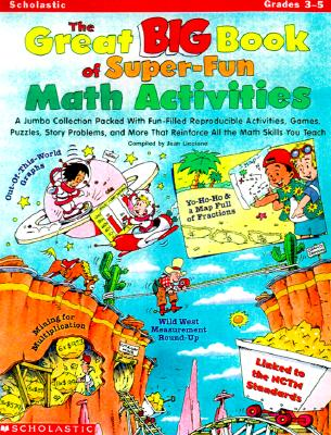 Image for The Great Big Book of Super-Fun Math Activities (Grades 3-5)