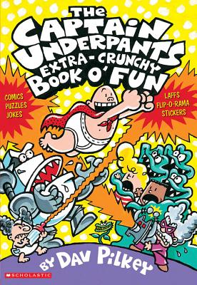 Image for EXTRA CRUNCHY BOOK O'FUN CAPTAIN UNDERPANTS