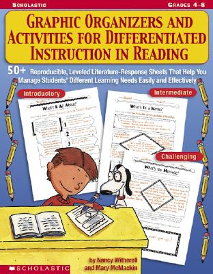 Image for Graphic Organizers And Activities For Differentiated Instruction In Re