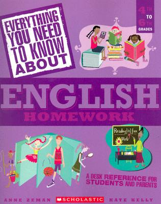 Image for Everything You Need...english To Know About English Homework (Everything You Need To Know About)