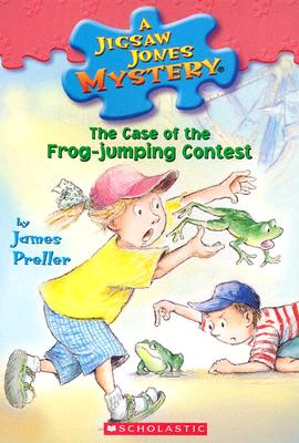 The Case Of The Frog Jumping Contest, James Preller