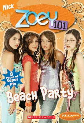 Teenick: Zoey 101: Chapter Book #4: Beach Party