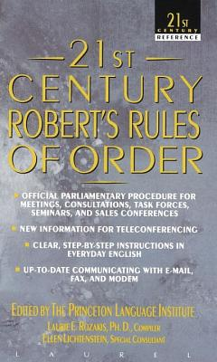Image for 21st Century Robert's Rules of Order
