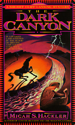 Image for The Dark Canyon (Sheriff Lansing Mystery)