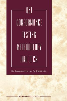 Image for OSI CONFORMANCE TESTING METHODOLOGY AND TICN