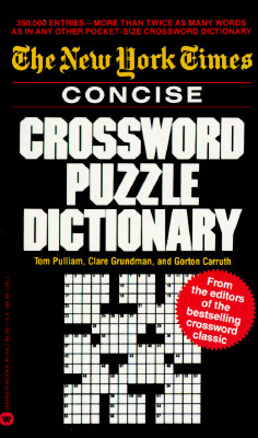 Image for New York Times Concise Crossword Puzzle Dictionary