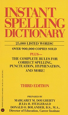 Image for Instant Spelling Dictionary
