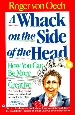 Image for A Whack on the Side of the Head: How You can be More Creative