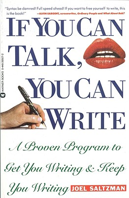 Image for If You Can Talk You Can Write