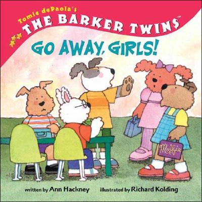 Image for Barker Twins, The: Go Away, Girls!