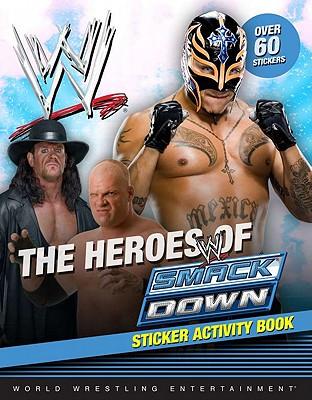 Heroes of SmackDown Sticker Activity Book (WWE), Grosset & Dunlap