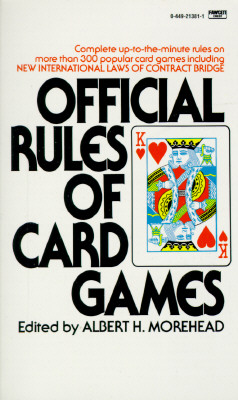 Image for Official Rules of Card Games