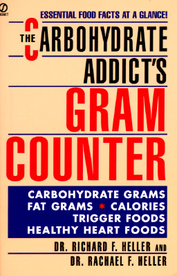 Image for CARBOHYDRATE ADDICTS GRAM COUNTER