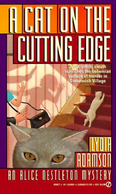 Image for A Cat on the Cutting Edge (Alice Nestleton Mystery)