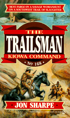 Image for Kiowa Command (The Trailsman #168)