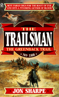 Image for The Greenback Trail (Trailsman #180)