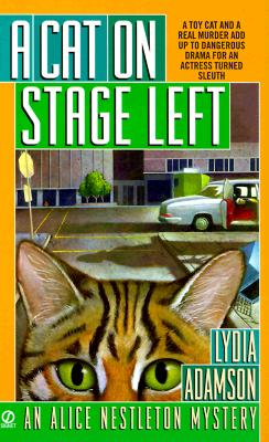 Image for A Cat on Stage Left (Alice Nestleton Mystery)