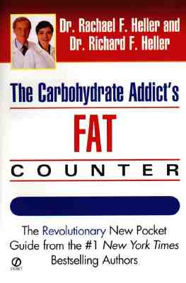Image for Carbohydrate Addict's Fat Counter