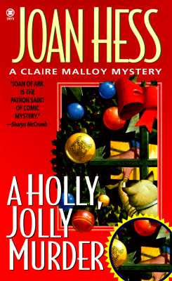 "Image for ""A Holly Jolly Murder (Claire Malloy Mysteries, No. 12)"""