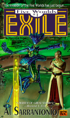 Image for Exile (Five Worlds #1)
