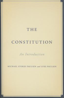Image for CONSTITUTION: AN INTRODUCTION