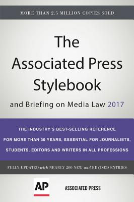 Image for The Associated Press Stylebook 2017