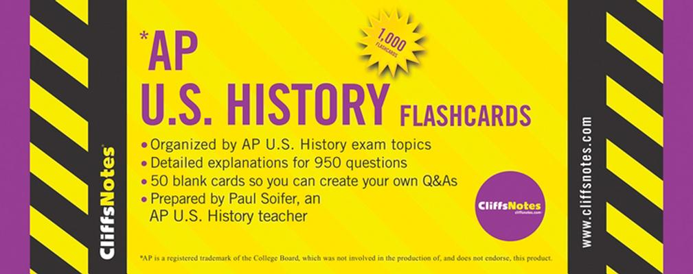 "CliffsNotes AP U.S. History Flashcards, ""Soifer, Paul"""