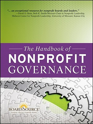 Image for The Handbook of Nonprofit Governance