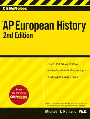 """CliffsNotes AP European History, 2nd Edition (Cliffs AP)"", ""Romano, Michael J."""