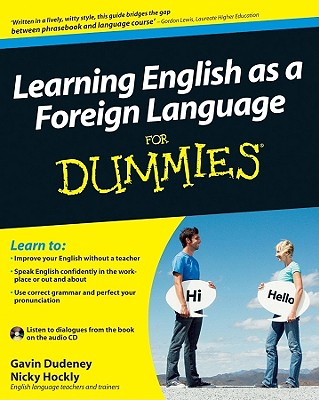 Image for Learning English as a Foreign Language For Dummies