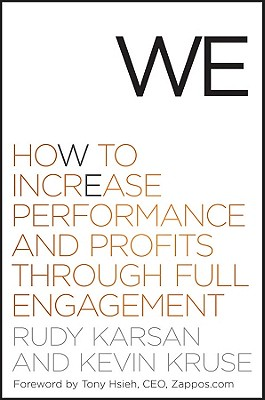 Image for We: How to Increase Performance and Profits Through Full Engagement  (5 CDs)