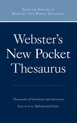 Image for Webster's New Pocket Thesaurus