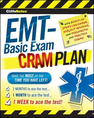 CliffsNotes EMT-Basic Exam Cram Plan (Cliffsnotes Cram Plan), Northeast Editing  Inc.