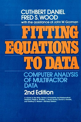 Image for FITTING EQUATIONS TO DATA COMPUTER ANALYSIS OF MULTIFACTOR DATA