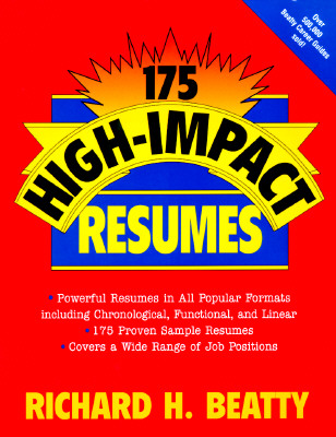 Image for 175 HIGH IMPACT RESUMES