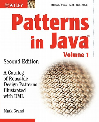 Image for Patterns in Java: A Catalog of Reusable Design Patterns Illustrated with UML, 2nd Edition, Volume 1