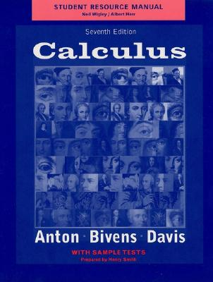 Image for Calculus, Late Transcendentals Combined, Student Resource Manual