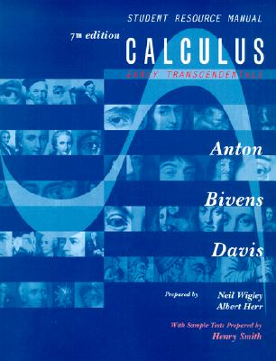 Image for Calculus, Early Transcendentals, Student Resource Manual