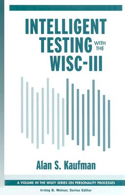 Image for Intelligent Testing with the WISC-III