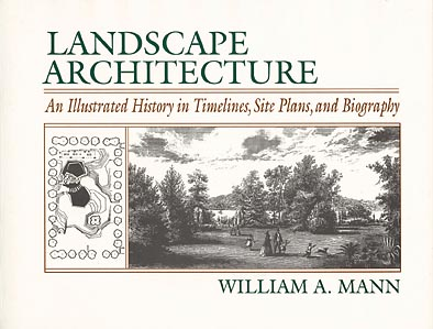 Image for Landscape Architecture: An Illustrated History in Timelines, Site Plans and Biography