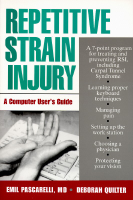 Image for Repetitive Strain Injury: A Computer User's Guide