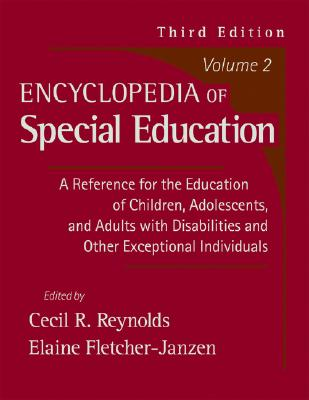 Image for Encyclopedia of Special Education, Vol. 2 (3rd Edition)