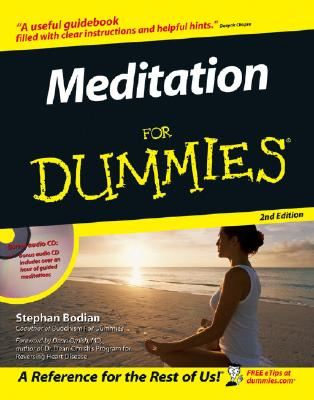 Meditation For Dummies (Book and CD edition), Stephan Bodian