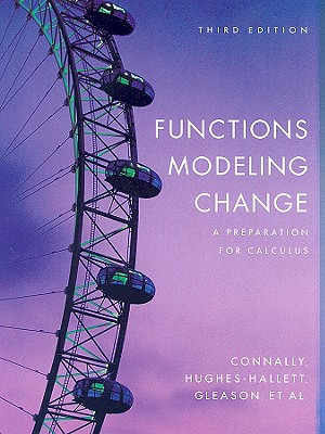Image for Functions Modeling Change: A Preparation for Calculus